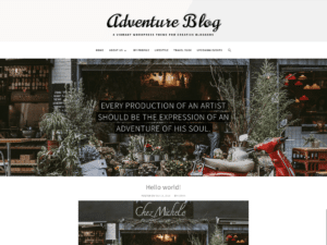 Adventure Blog Theme